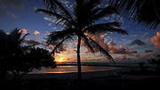 Sunrise, Lydgate Beach Park, Wailua, Kauai, Hawaii