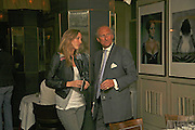 Emily Forbes and Charles Dance, Bob Carlos Clarke: Dark Genius - launch & memorial <br />at  Luciano, 72 St James's Street, London, SW1, Party at Sir Rocco Forte and Marco Pierre White's restaurant launching new permanent exhibition of pieces by the late Irish photographer, 13 November 2006. ONE TIME USE ONLY - DO NOT ARCHIVE  © Copyright Photograph by Dafydd Jones 66 Stockwell Park Rd. London SW9 0DA Tel 020 7733 0108 www.dafjones.com