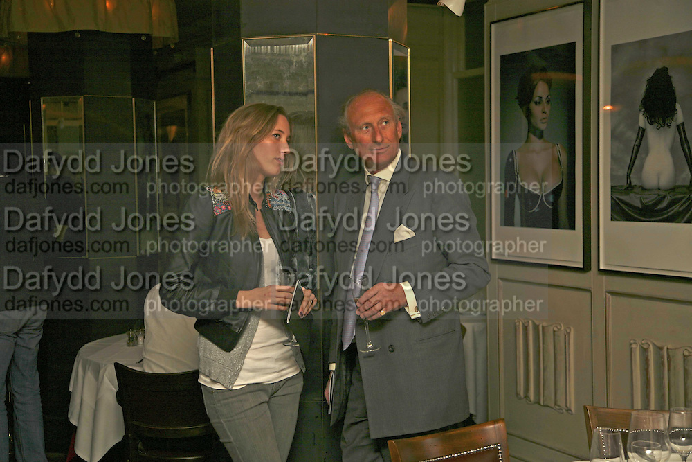 Emily Forbes and Charles Dance, Bob Carlos Clarke: Dark Genius - launch &amp; memorial <br />
