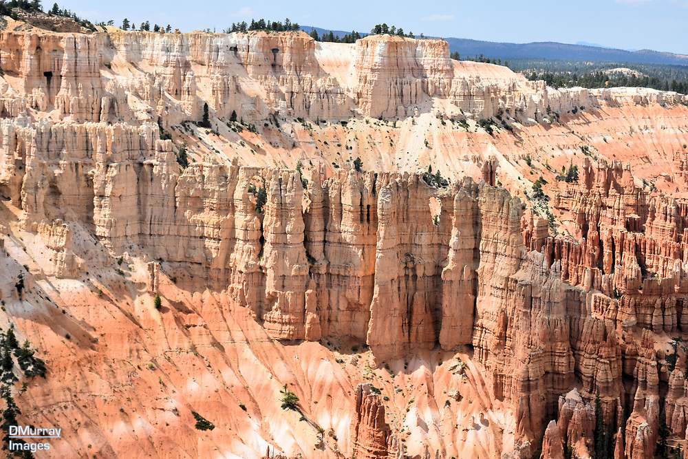 Cliffs, Bryce Canyon National Park, Utah, USA