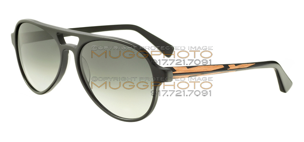 black and gold kata sunglasses
