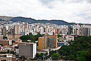 Belo Horizonte_MG, Brasil...Vista panoramica da Praca Floriano Peixoto, no Bairro Santa Efigenia, Belo Horizonte, Minas Gerais, ao fundo a Serra do Curral...Panoramic view of Floriano Peixoto square in Santa Efigenia neighborhood in Belo Horizonte, Minas Gerais in the background Serra do Curral...Foto: JOAO MARCOS ROSA / NITRO.