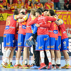 20180121: CRO, Handball - EHF Euro Croatia 2018 - Group II, Macedonia vs Spain