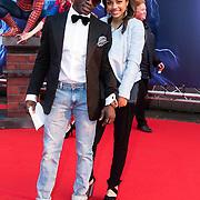 NLD/Amsterdam/20140422 - Premiere The Amazing Spiderman 2, Regilio Tuur en partner Estee