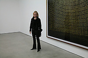 Louise Macbain, Andreas Gursky, White Cube, Mason's Yard. London. 22 March 2007.   -DO NOT ARCHIVE-© Copyright Photograph by Dafydd Jones. 248 Clapham Rd. London SW9 0PZ. Tel 0207 820 0771. www.dafjones.com.