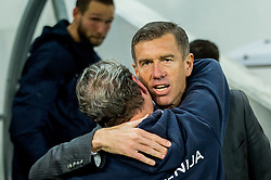 Srecko Katanec, head coach of Slovenia after the football match between National Teams of Slovenia and Scotland of Fifa 2018 World Cup European qualifiers, on October 8, 2017 in SRC Stozice, Ljubljana, Slovenia. Photo by Vid Ponikvar / Sportida