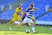 Reading forward George Puscas (47) during the EFL Sky Bet Championship match between Reading and Barnsley at the Madejski Stadium, Reading, England on 19 September 2020.
