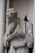 Sao Paulo_SP, Brasil...Detalhe de um monumento degradado na Catedral da Se em Sao Paulo...A degraded monument in Catedral da Se in Sao Paulo...Foto: MARCUS DESIMONI / NITRO