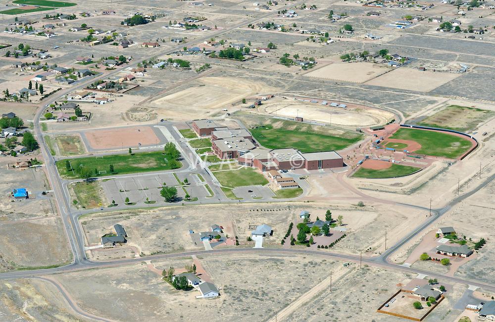 Pueblo West High School.  May 2013.  87532