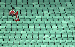 Arsenal seats empty at full time during the UEFA Europa League final at The Olympic Stadium, Baku, Azerbaijan.