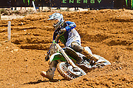 Agueda, Portugal, 5th May 2013, World Championship MX1, British Tommy Searle with a Kawasaki, 6th race 1 and  4th in race 2