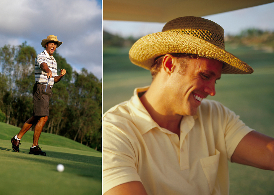 Stock images of golfer taken at the Four Seasons resort in Carlsbad, California, USA, North America. Fitness Photographer Robert Randall