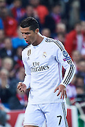 041415 Atletico de Madrid vs. Real Madrid Round 4 - Champions League