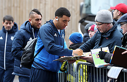 Watford's Troy Deeney before the Premier League match at Turf Moor, Burnley.