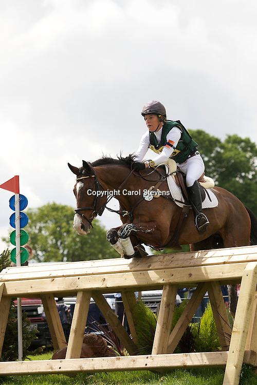 Equi-Trek Bramham International Horse Trials 2012  CIC3*<br /> Kate Wood and Easy Tiger IV (NZL)