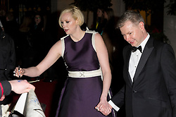 © Licensed to London News Pictures. 14/02/2016. London, UK. GWENDOLINE CHRISIE arrives on the red carpet for the EE British Academy Film Awards 2016 after party held at Grosvenor House . London, UK. Photo credit: Ray Tang/LNPPhoto credit: Ray Tang/LNP