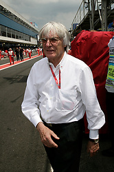 SAO PAULO, BRAZIL - Sunday, November 2, 2008: Bernie Ecclestone (ENG, president and CEO of Formula One Management and Formula One Administration) during the Brazilian Formula One Grand Prix at the Interlagos Circuit. (Photo by Juergen Tap/Hochzwei/Propaganda)