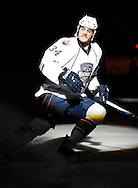 November 8, 2011: The Oklahoma City Barons play the Toronto Marlies in an American Hockey League game at the Cox Convention Center in Oklahoma City.