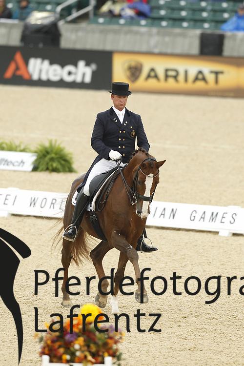 JORISSEN Philippe, Le Beau<br /> Kentucky - Alltech FEI WEG 2010<br /> /Stefan Lafrentz