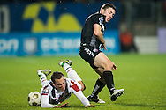 Onderwerp/Subject: Willem II - FC Utrecht - Eredivisie<br /> Reklame:  <br /> Club/Team/Country: <br /> Seizoen/Season: 2012/2013<br /> FOTO/PHOTO: Ricardo IPPEL (L) of Willem II in duel with Tommy OAR ( Thomas Michael OAR ) (R) of FC Utrecht. (Photo by PICS UNITED)<br /> <br /> Trefwoorden/Keywords: <br /> #04 $94 &plusmn;1342772348418<br /> Photo- &amp; Copyrights &copy; PICS UNITED <br /> P.O. Box 7164 - 5605 BE  EINDHOVEN (THE NETHERLANDS) <br /> Phone +31 (0)40 296 28 00 <br /> Fax +31 (0) 40 248 47 43 <br /> http://www.pics-united.com <br /> e-mail : sales@pics-united.com (If you would like to raise any issues regarding any aspects of products / service of PICS UNITED) or <br /> e-mail : sales@pics-united.com   <br /> <br /> ATTENTIE: <br /> Publicatie ook bij aanbieding door derden is slechts toegestaan na verkregen toestemming van Pics United. <br /> VOLLEDIGE NAAMSVERMELDING IS VERPLICHT! (&copy; PICS UNITED/Naam Fotograaf, zie veld 4 van de bestandsinfo 'credits') <br /> ATTENTION:  <br /> &copy; Pics United. Reproduction/publication of this photo by any parties is only permitted after authorisation is sought and obtained from  PICS UNITED- THE NETHERLANDS