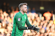 Southend United Goalkeeper Mark Oxley (1) in action during the EFL Sky Bet League 1 match between Southend United and Portsmouth at Roots Hall, Southend, England on 17 February 2018. Picture by Stephen Wright.