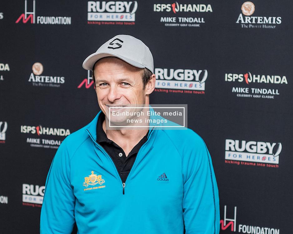 Austin Healey at The ISPS HANDA Mike Tindall Celebrity Golf Classic<br /> <br /> (c) John Baguley | Edinburgh Elite media