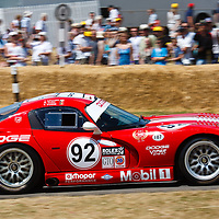 #92 Dodge Viper GTS R competing in the Festival of Speed at Goodwood 3rd July 2010