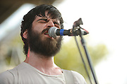 Titus Andronicus performing at LouFest in St. Louis on August 28, 2010.