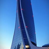 MILANO, Citylife district. The Hadid Tower il nuovo grattacielo di Generali