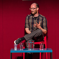 Edward Ross on stage at the Edinburgh International Book Festival 2013. <br /> 23 August 2013. <br /> <br /> Photograph by Chris Scott/Writer Pictures <br /> WORLD RIGHTS