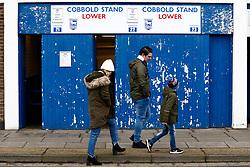 Supporters arrive at Portman Road - Mandatory by-line: Phil Chaplin/JMP - 16/02/2019 - FOOTBALL - Portman Road - Ipswich, England - Ipswich Town v Stoke City - Sky Bet Championship