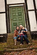 Lifestyle photography images of American Josh and his family, taken near Copenhagen, Denmark