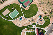 New development south of Anthem, Arizona -- pocket parks and play facilities