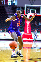 NORMAL, IL - January 05: A'Niah Griffin during a college women's basketball game between the ISU Redbirds and the Purple Aces of University of Evansville January 05 2020 at Redbird Arena in Normal, IL. (Photo by Alan Look)