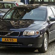 NLD/Amsterdam/20190115 - Koninklijke nieuwjaarsontvangst Nederlandse genodigden, dienstauto AA-95