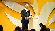 Liberal Democrats<br /> Autumn Conference 2011 <br /> at the ICC, Birmingham, Great Britain <br /> <br /> 17th to 21st September 2011 <br /> <br /> The Right Honourable Chris Huhne MP<br /> Secretary of State for Energy and Climate Change<br /> <br /> Photograph by Elliott Franks