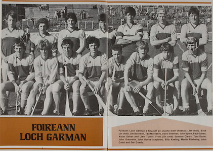 All Ireland Senior Hurling Championship - Final,.07.09.1980, 09.07.1980, 7th September 1980,.Galway 2-15, Limerick 3-9,.07091980ALSHCF,..Wexford MInor Team, .Back row, Jim Barnwell, Ted Morrissey, David Sheehan, John Byrne, Paul Gahan, Aidan Gahan, Liam Turner, Front row, Eamonn Cleary, Tom Doyle, John Grennells, John Roche captain, Billy Keeling, Martin Fitzhenry, John Codd, Ger Coady,