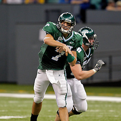 Sep 26, 2009; New Orleans, LA, USA; Tulane Green Wave quarterback Joe Kemp (7) throws a pass against the McNesse State Cowboys at the Louisiana Superdome. Tulane defeated McNeese State 42-32. Mandatory Credit: Derick E. Hingle-US PRESSWIRE