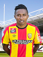 Lalaina NOMENJANAHARY - 30.10.2015 - Portrait Officiel - Lens<br /> Photo : RC Lens / Icon Sport