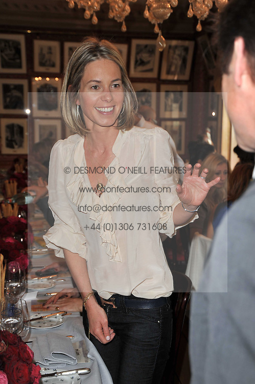 FIONA McALPINE at a lunch hosted by Roger Viver in honour of Bruno Frisoni their creative director, held at Harry's Bar, 26 South Audley Street, London on 31st March 2011.