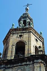 Bell tower of a church in Vitoria Gasteiz, Spain<br /> <br /> (c) Andrew Wilson | Edinburgh Elite media