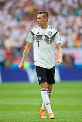 MOSCOW, RUSSIA - Sunday, June 17, 2018: Germany's Julian Draxler during the FIFA World Cup Russia 2018 Group F match between Germany and Mexico at the Luzhniki Stadium. (Pic by David Rawcliffe/Propaganda)