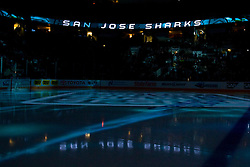 May 2, 2010; San Jose, CA, USA;  General view of the interior HP Pavilion before game two of the western conference semifinals of the 2010 Stanley Cup Playoffs between the San Jose Sharks and the Detroit Red Wings.  San Jose defeated Detroit 4-3. Mandatory Credit: Jason O. Watson / US PRESSWIRE