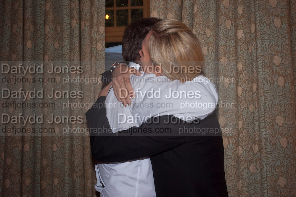 MATTHEW FREUD; ELIZABETH MURDOCH, Freud Museum dinner, Maresfield Gardens. 16 June 2011. <br /> <br />  , -DO NOT ARCHIVE-&copy; Copyright Photograph by Dafydd Jones. 248 Clapham Rd. London SW9 0PZ. Tel 0207 820 0771. www.dafjones.com.