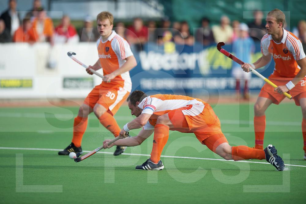 AUCKLAND - Champions Trophy men.Netherlands v New Zealand.foto: Taeke Taekema,penaltycorner..FFU Press Agency  COPYRIGHT FRANK UIJLENBROEK..