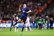 STOCKHOLM, 2017-05-24: Ander Herrera under UEFA Europa League Finalen mellan Ajax och Manchester United p&aring; Friends Arena den 24,maj 2017 i Stockholm, Sverige.  Foto: Nils Petter Nilsson/Ombrello<br />***BETALBILD***