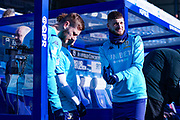Leeds United midfielder Mateusz Klich (43) warming up during the EFL Sky Bet Championship match between Queens Park Rangers and Leeds United at the Kiyan Prince Foundation Stadium, London, England on 18 January 2020.