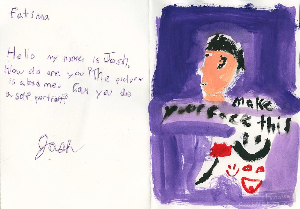 Children's artwork.