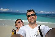 Shoal Bay East, maybe the finest beach of the entire Caribbean. Heimo Aga + Nicole Schmidt.