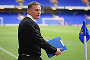 Bolton Wanderers Manager Phil Parkinson arriving at the Portman Rd Stadium before the EFL Sky Bet Championship match between Ipswich Town and Bolton Wanderers at Portman Road, Ipswich, England on 22 September 2018.